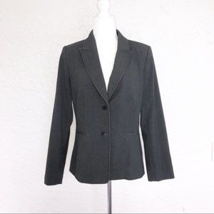 Calvin Klein Gray Blazer 2 Button Suit Jacket 10